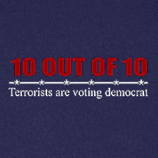 10 OUT OF 10 TERRORISTS ARE VOTING DEMOCRAT