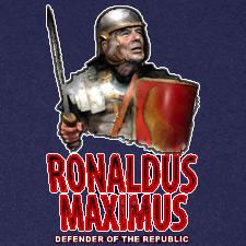 RONALDUS MAXIMUS DEFENDER OF THE REPUBLIC